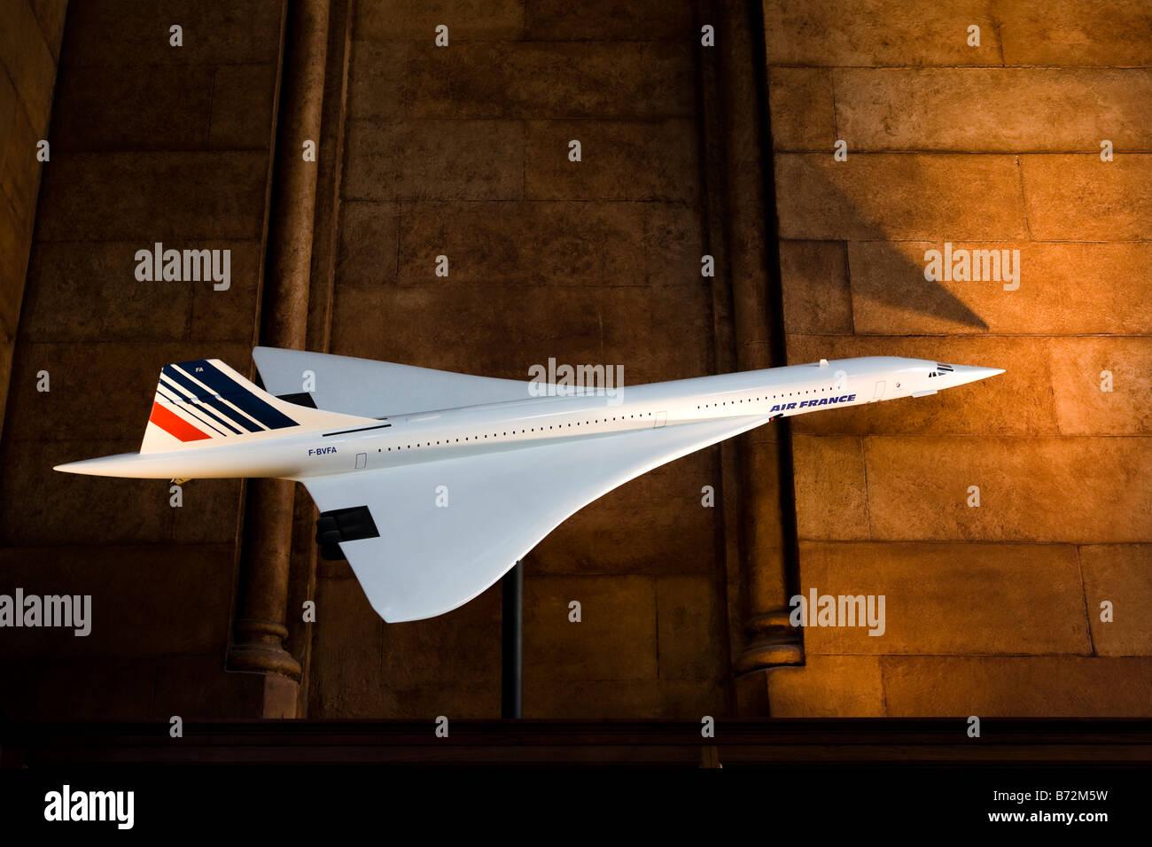 Concord Jet model - Stock Image