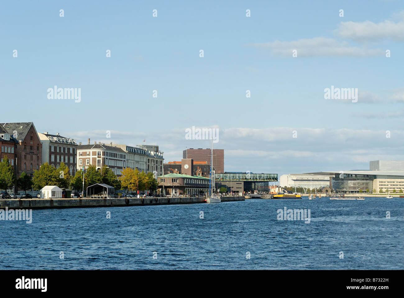 View on the Copenhagen city Denmark - Stock Image