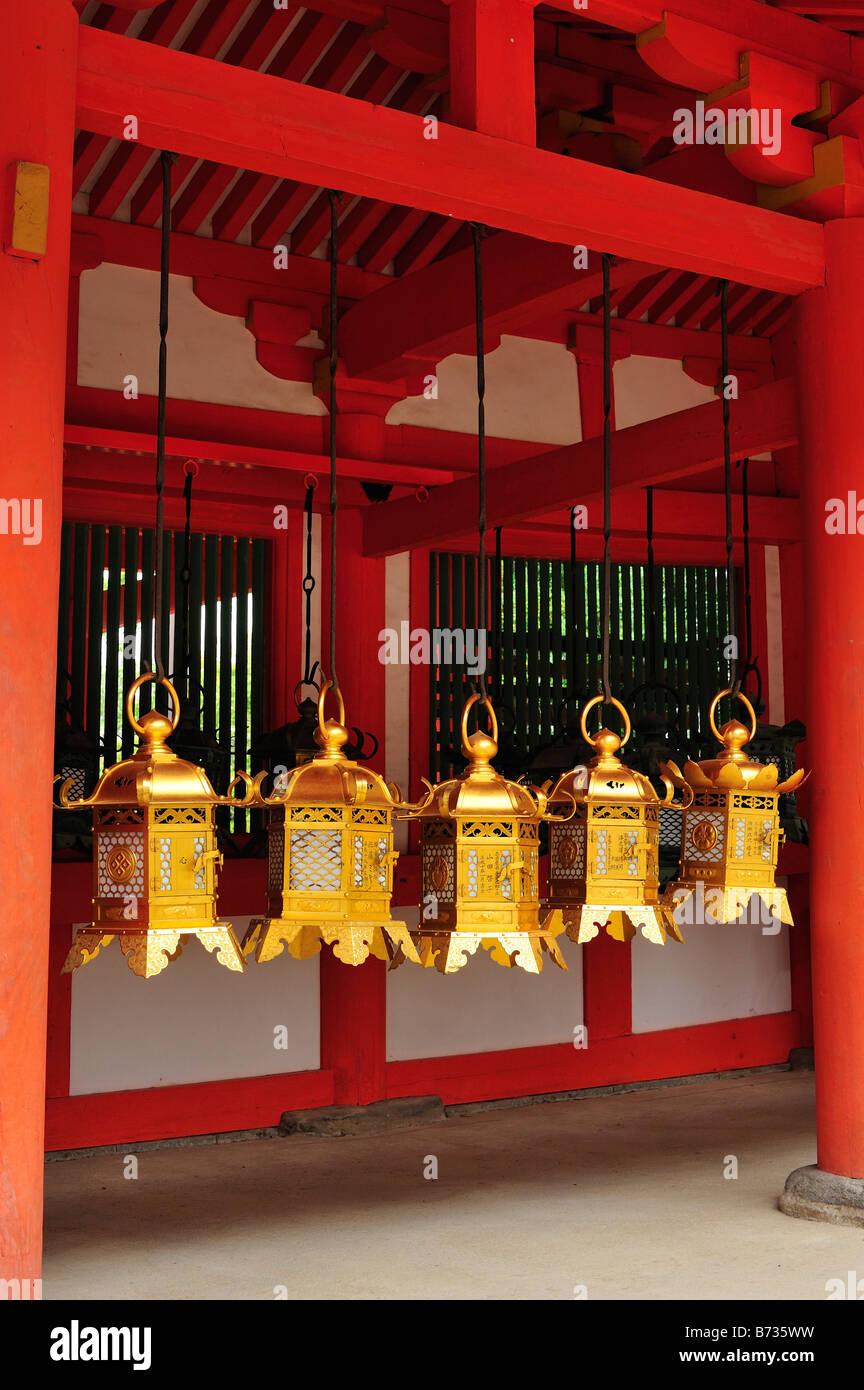 Kasuga Taisha, Nara City, Nara Prefecture, Kansai, Honshu, Japan Stock Photo