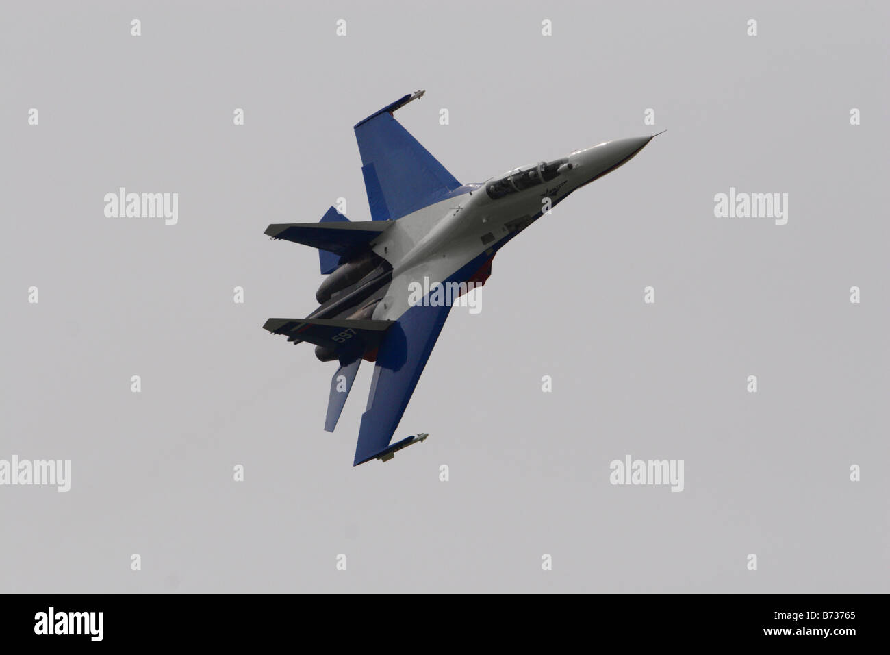 Sukhoi Su 27 SMK Flanker - Stock Image