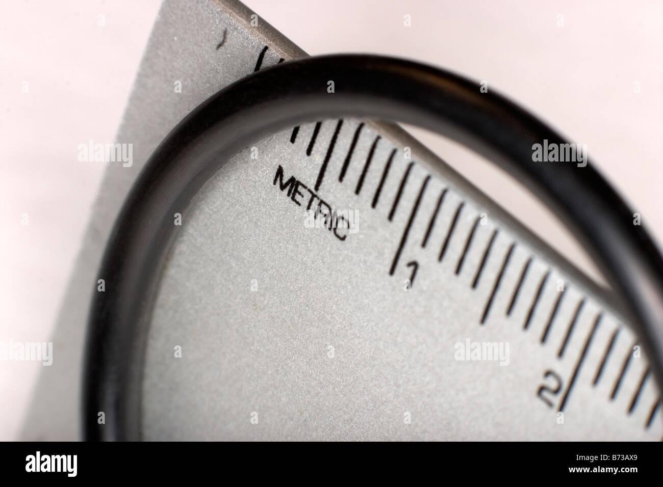 Metric O Ring - Stock Image