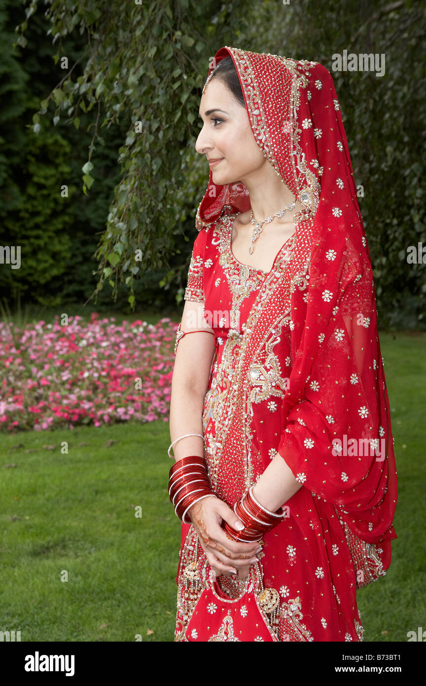 BRITISH ASIAN PAKISTANI MUSLIM FAMILY WEDDING - Stock Image