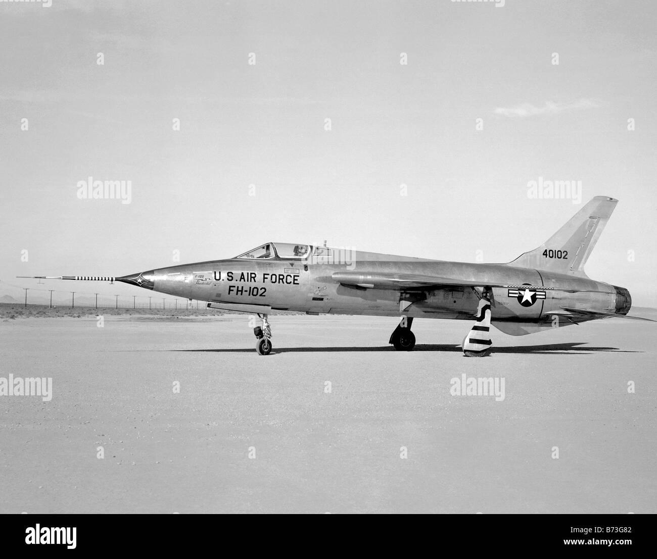 FH-102 Jet Airplane - Stock Image