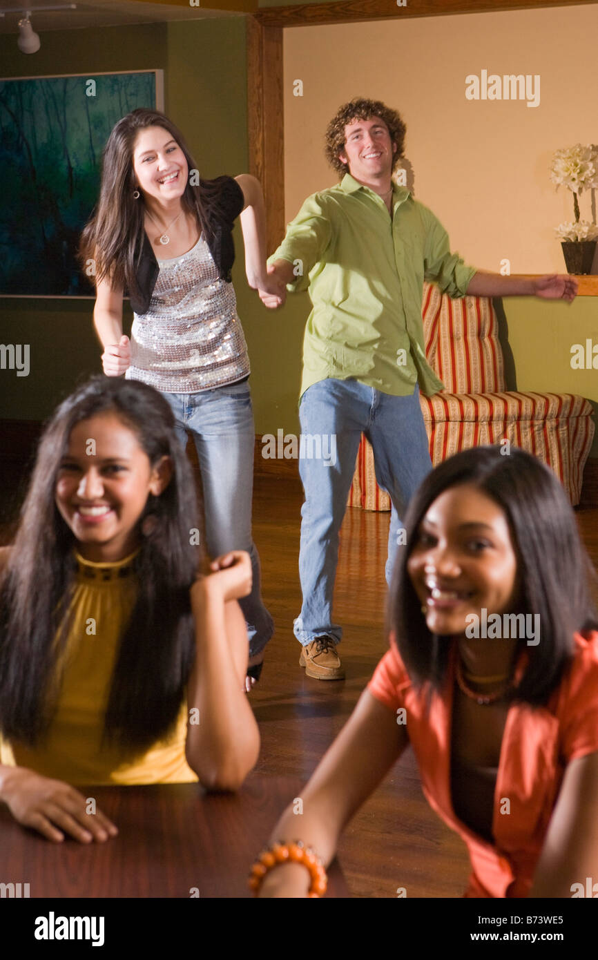 Four Girls Teenage Multicultural Stock Photos Amp Four Girls