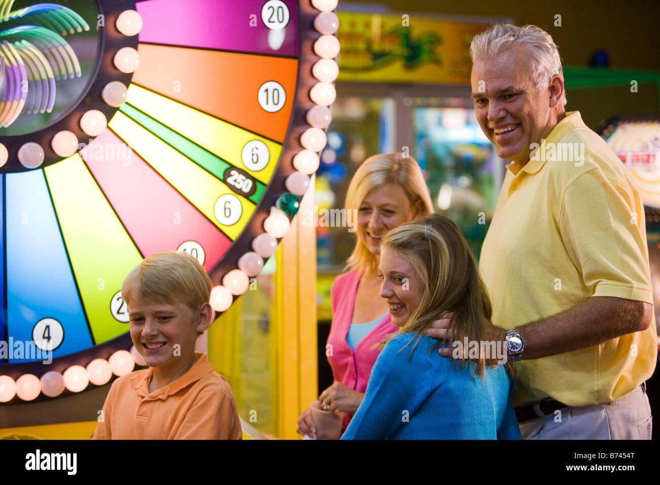 Kids Having Fun At A Fair