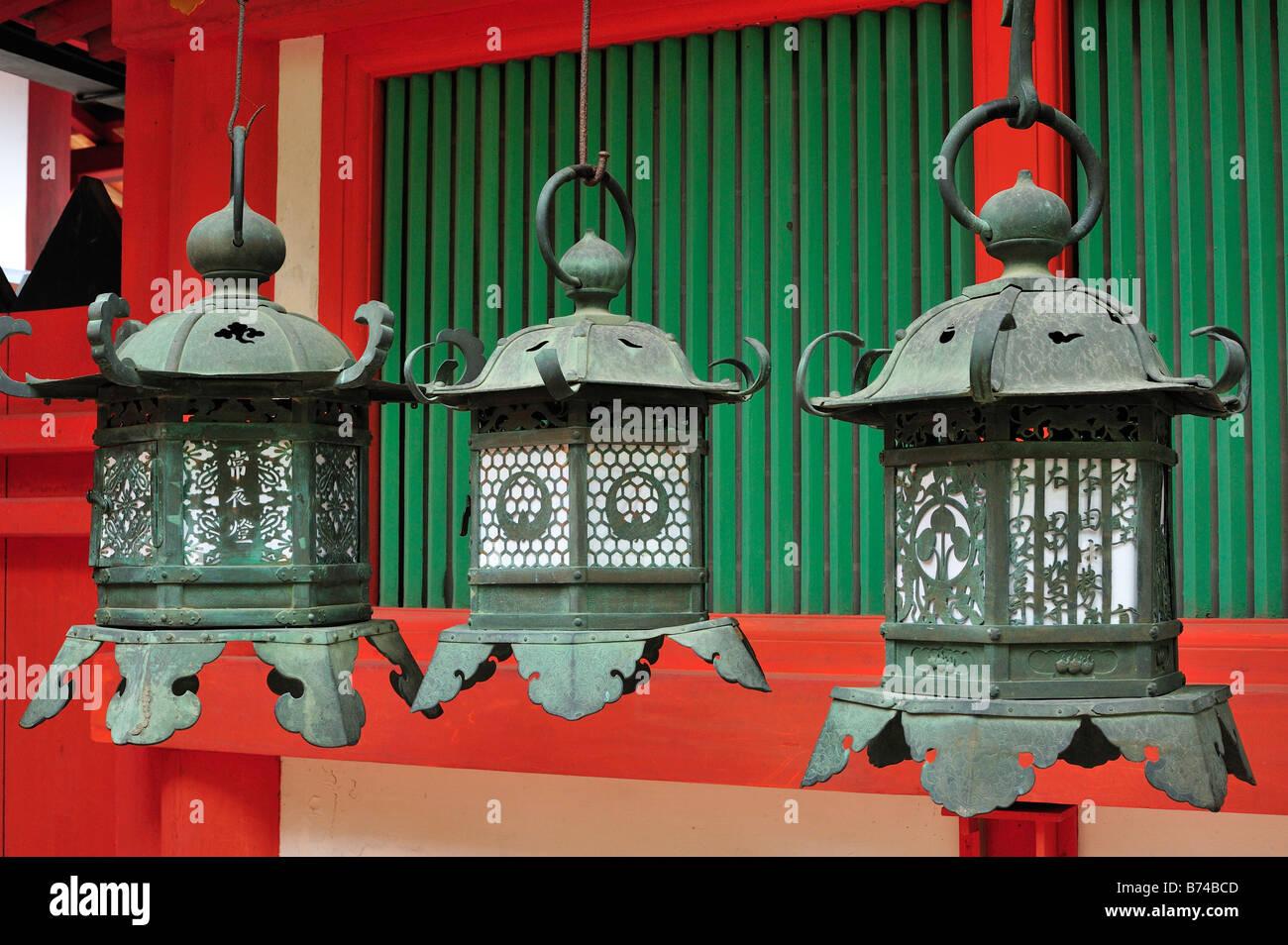 Kasuga Taisha, Nara City, Nara Prefecture, Kansai, Honshu, Japan - Stock Image