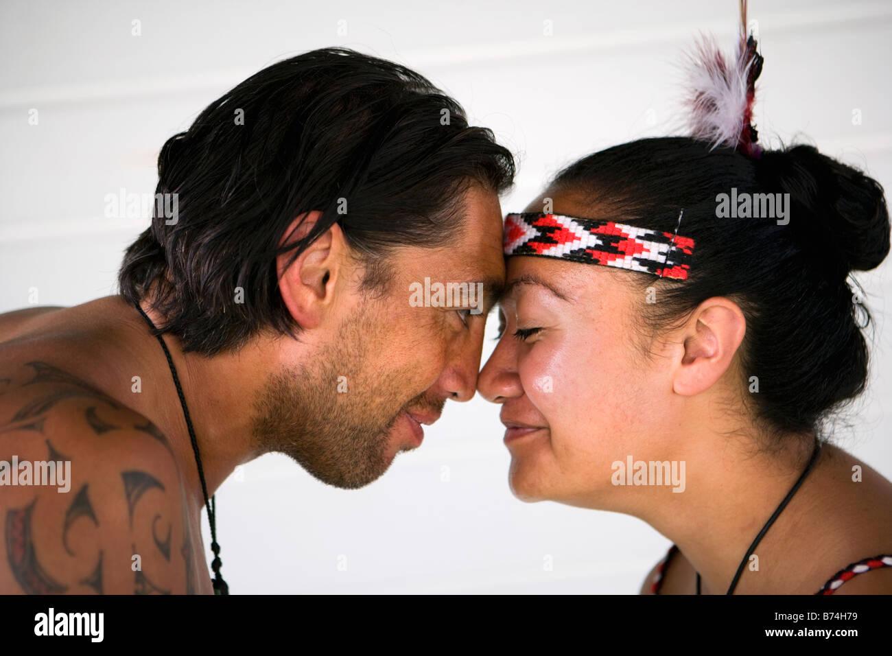 Maori Greeting New Zealand: New Zealand, North Island, Rotorua, Maori Culture, Warrior