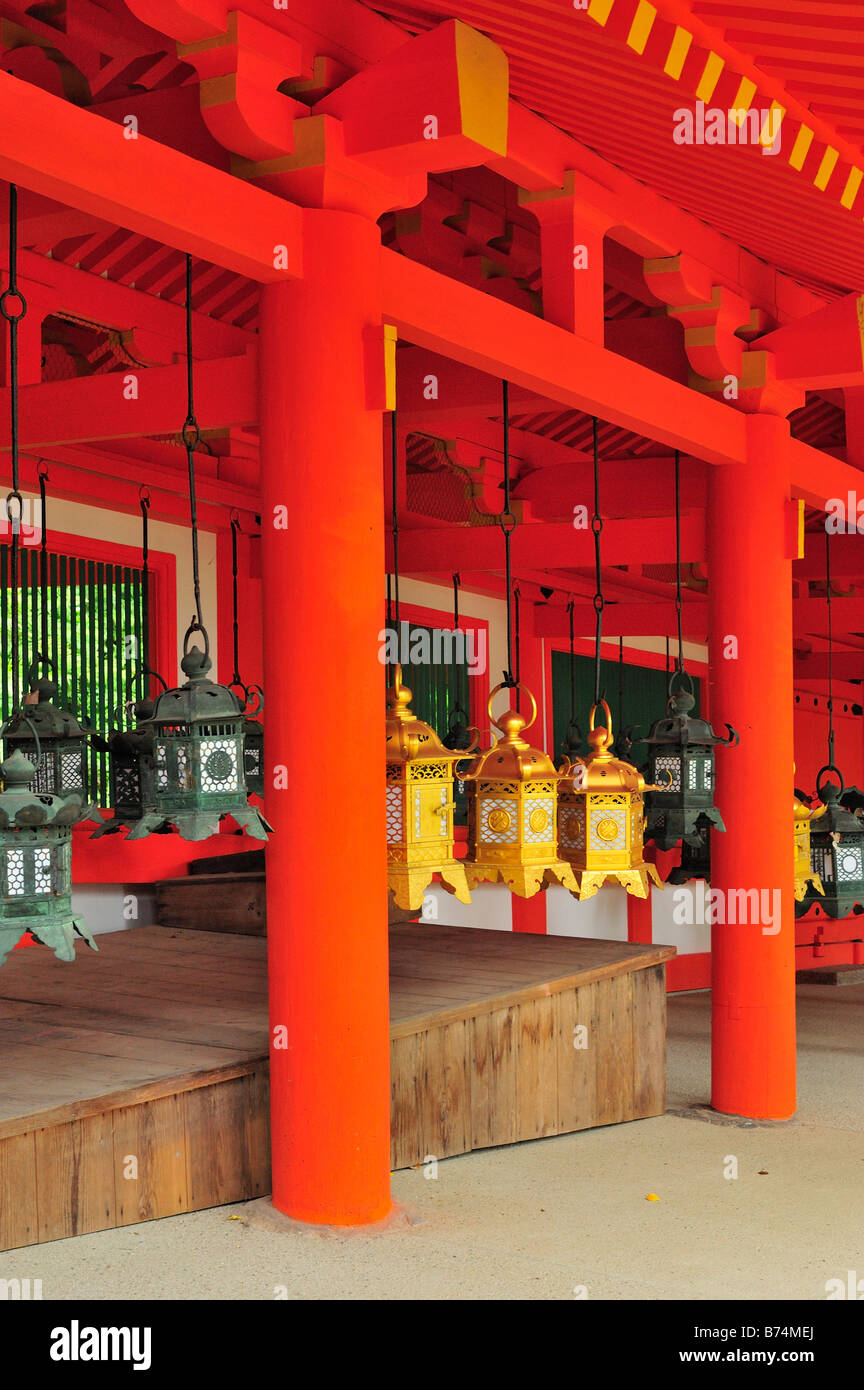 Kasuga Taisha, Nara City, Nara Prefecture, Kansai, Honshu, Japan - Stock Image