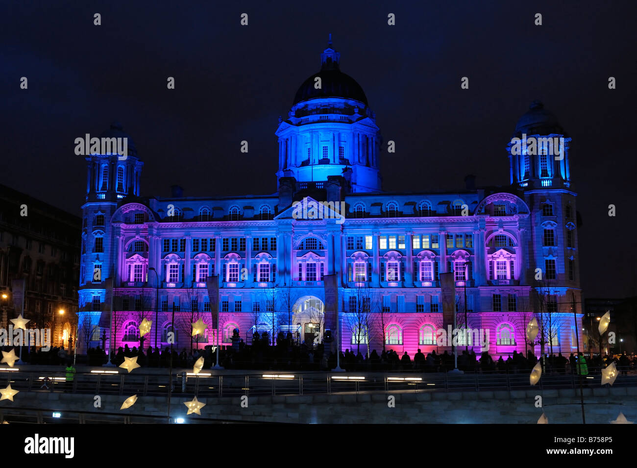 Port of Liverpool Building and Capital of Culture 08 Transition Event - Stock Image