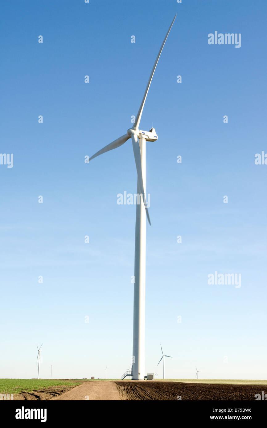 Wind turbine - Stock Image