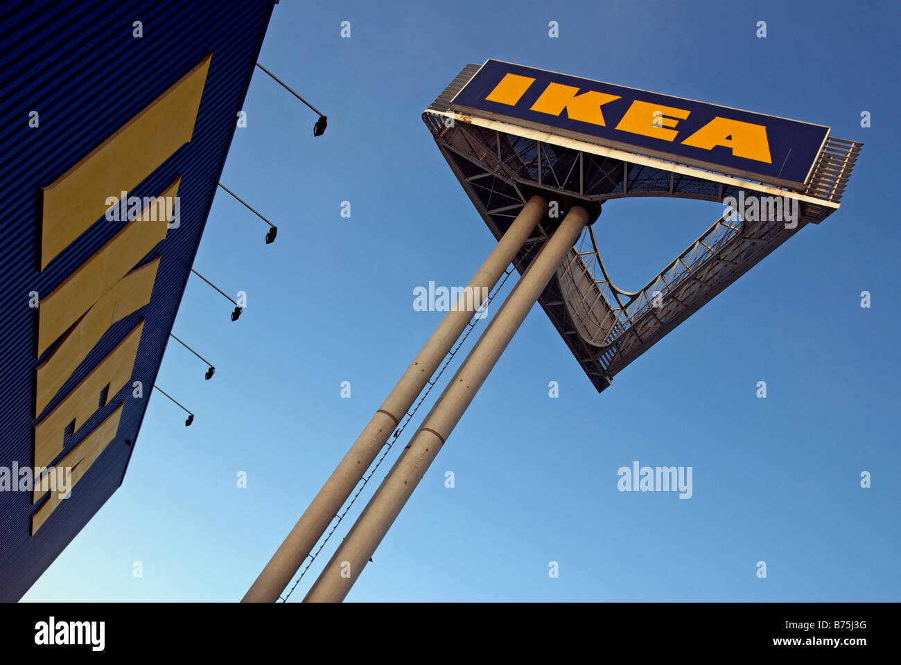 Ikea Superstore Godorf Cologne North Rhine Westphalia Germany