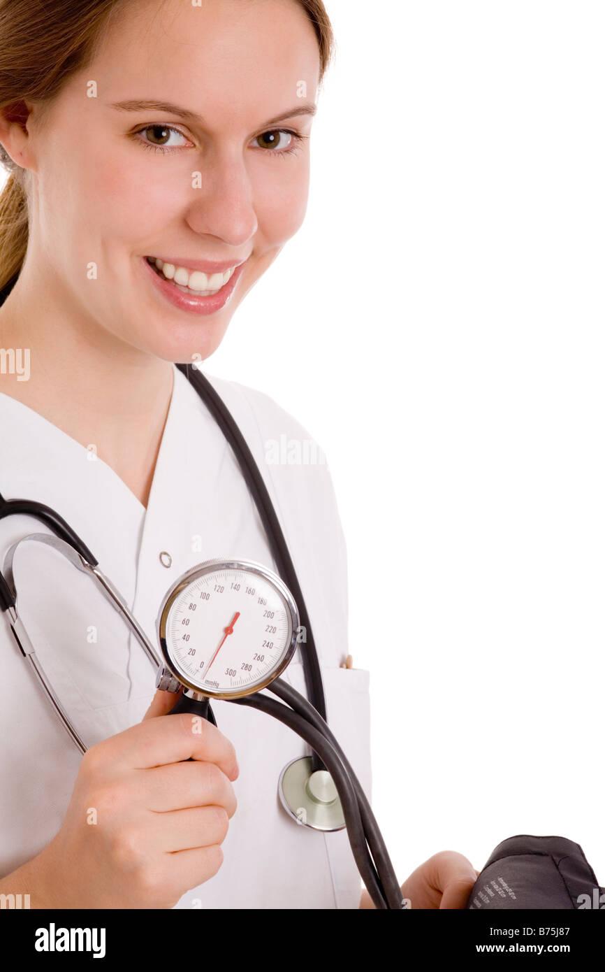 female doctor - Stock Image