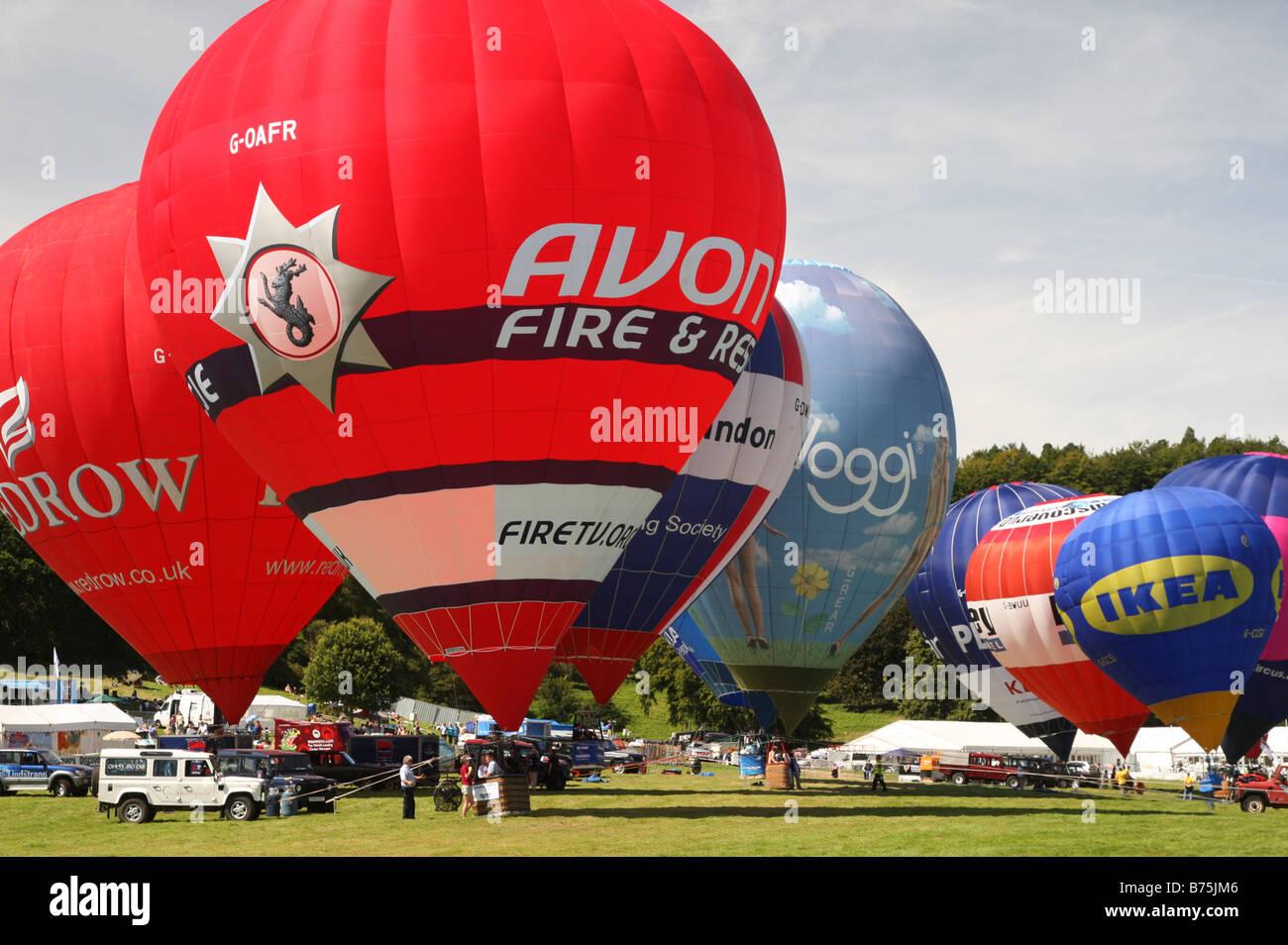 Bristol Balloon Fiesta Stock Photo