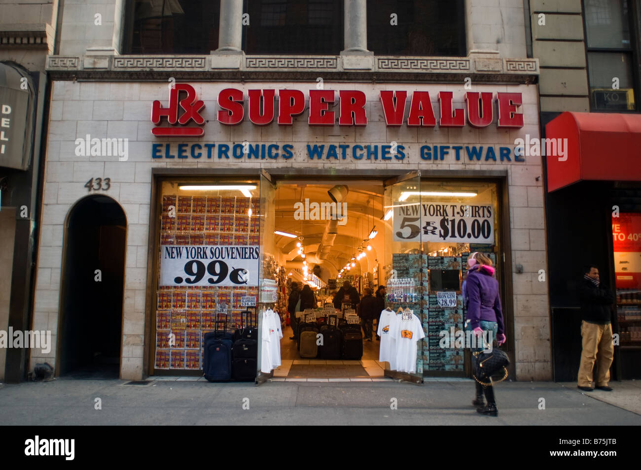daea2dbef548 Souvenir store in Midtown Manhattan in New York on Sunday January 4 ...