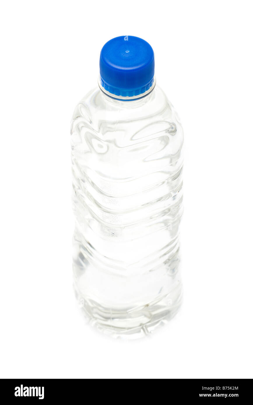 500 millilitre plastic bottle of drinking water - Stock Image
