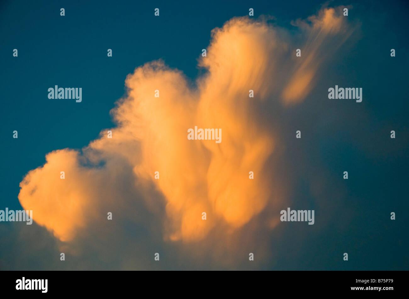 Unusual Updraft Cloud - Stock Image