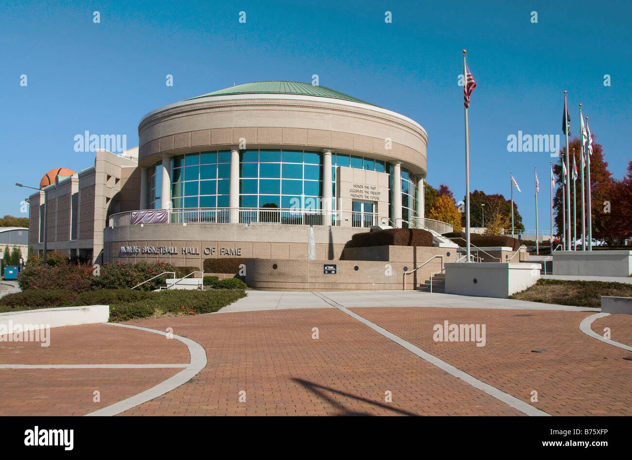 Women s Basketball Hall of Fame Knoxville Tennessee - Stock Image