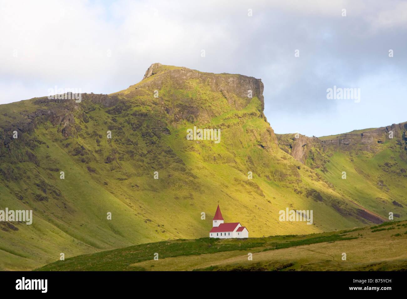 Vik Iceland - Stock Image