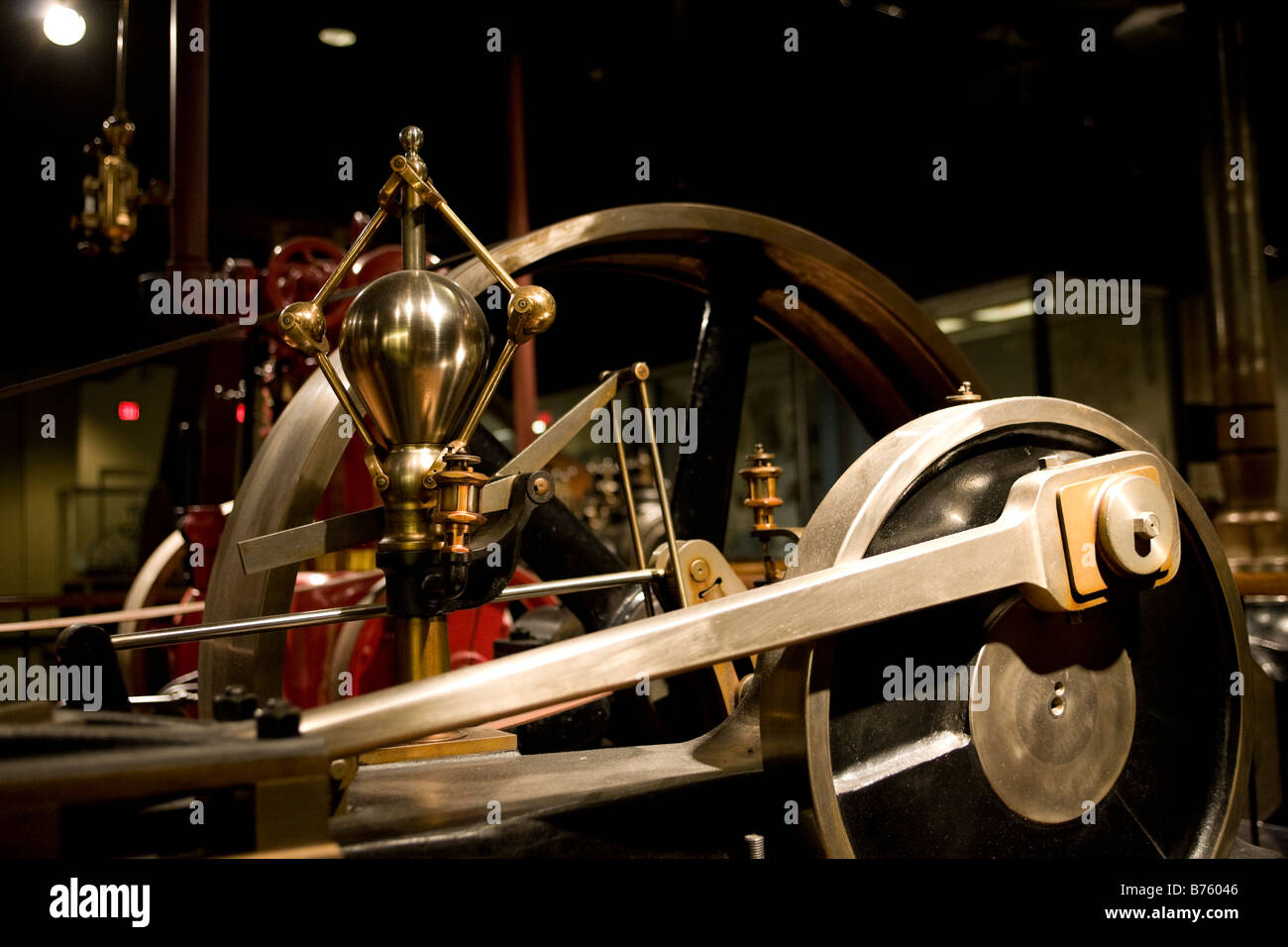 Old steam engine - Stock Image