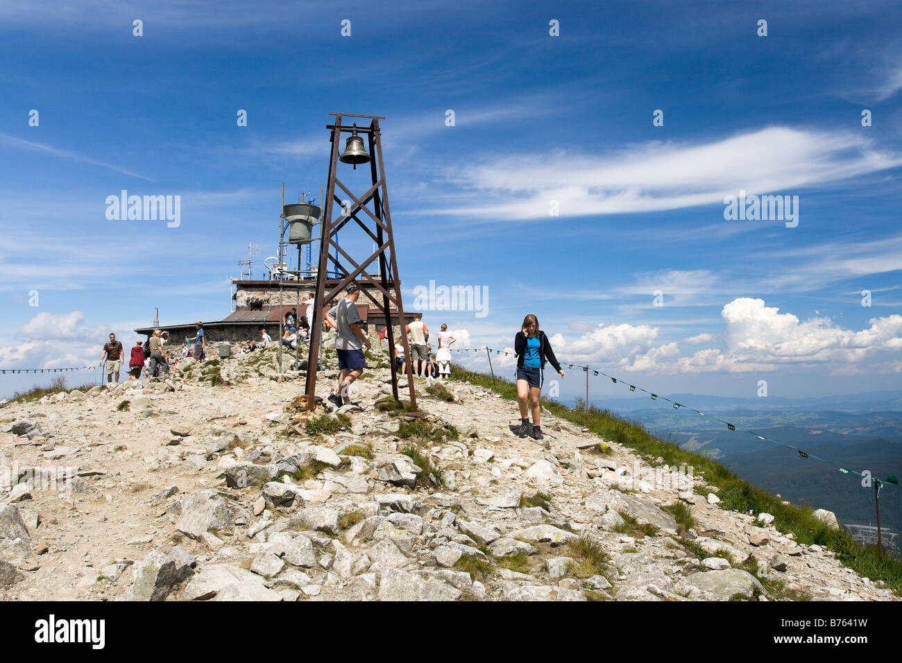 Kasprowy Wierch Meteorological Observatory Zakopane Poland - Stock Image