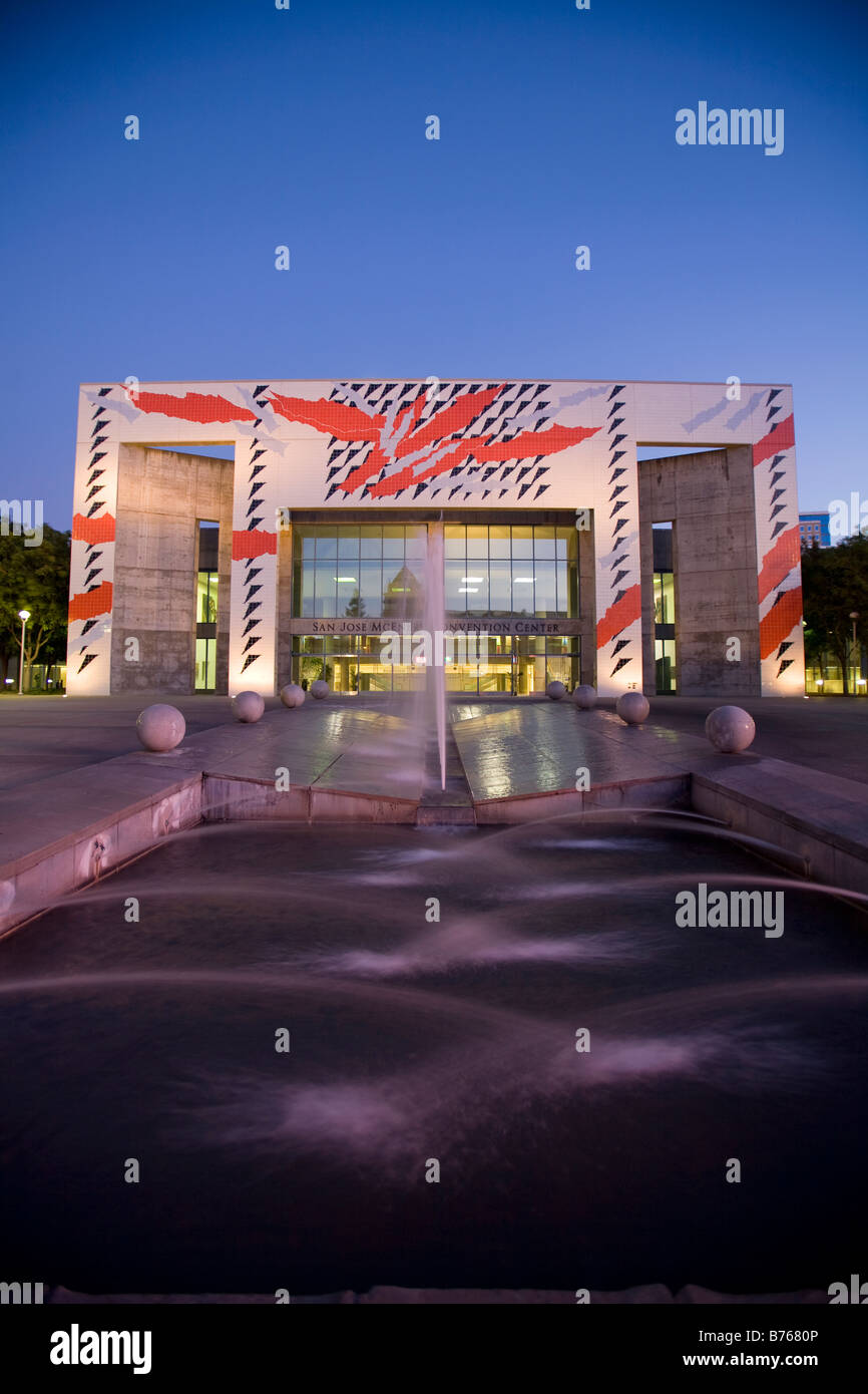 San Jose McEnery Convention Center, San Jose, California Stock Photo