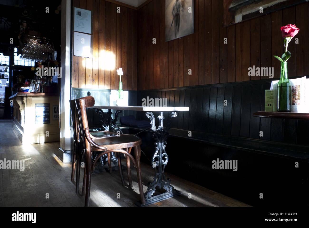 Troubadour Cafe Stock Photo: 21654083 - Alamy