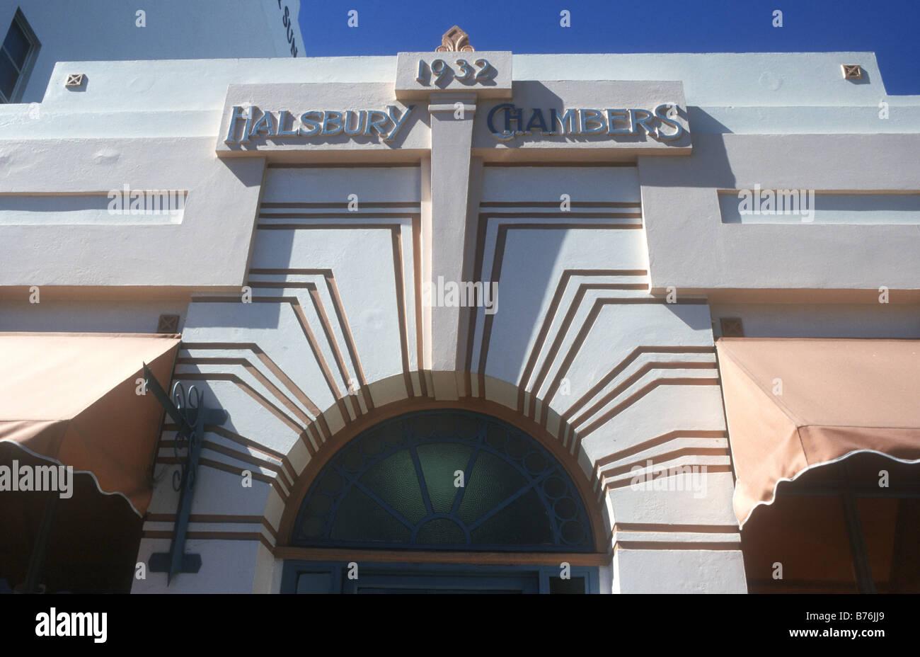 Newzealand Detail: Distinctive Art Deco Architecture Detail In Napier , The