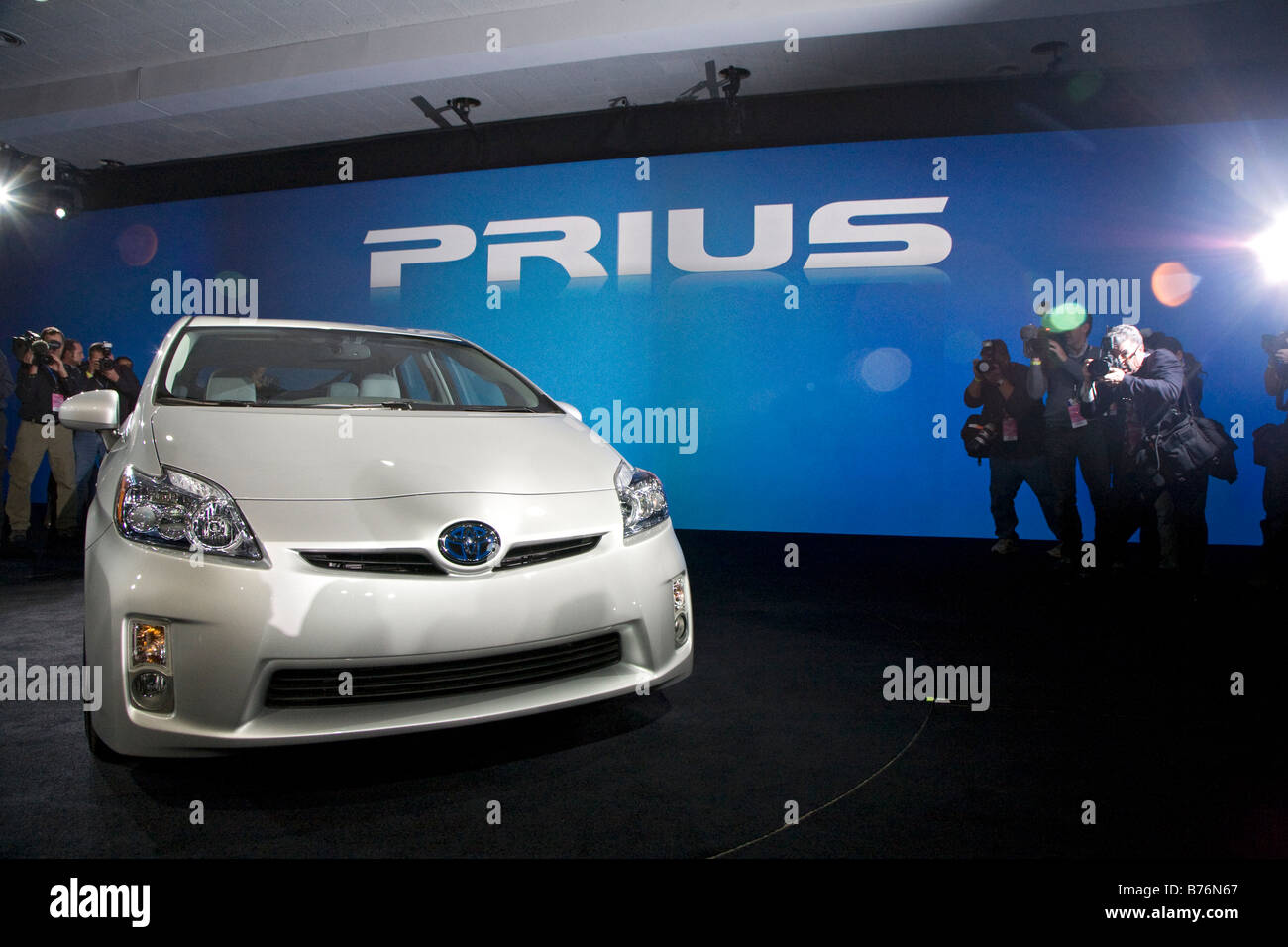 Toyota Prius - Stock Image