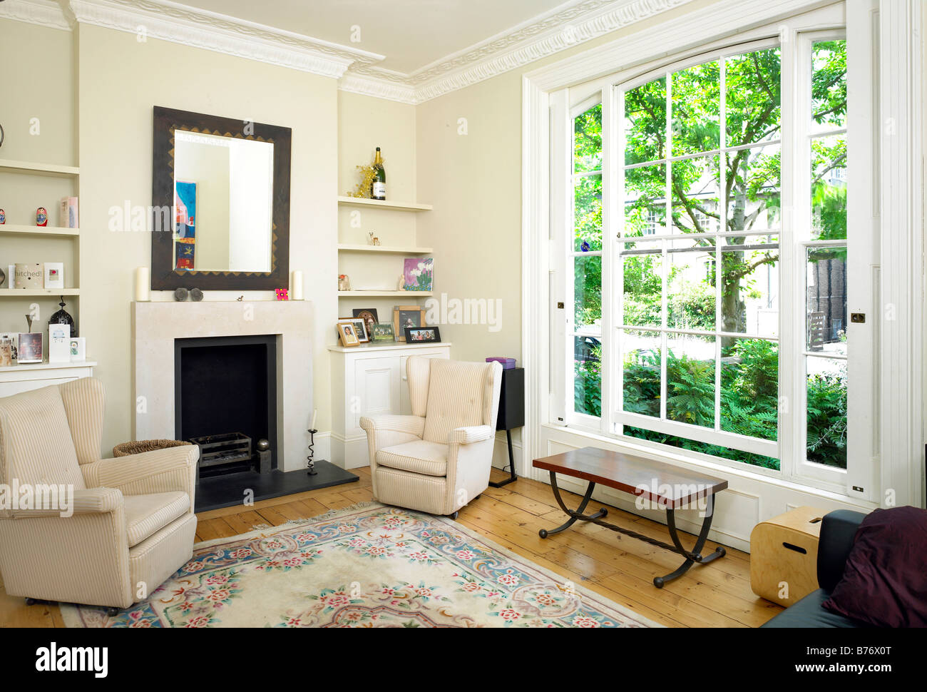 Basement Living Room In Georgian Townhouse North London