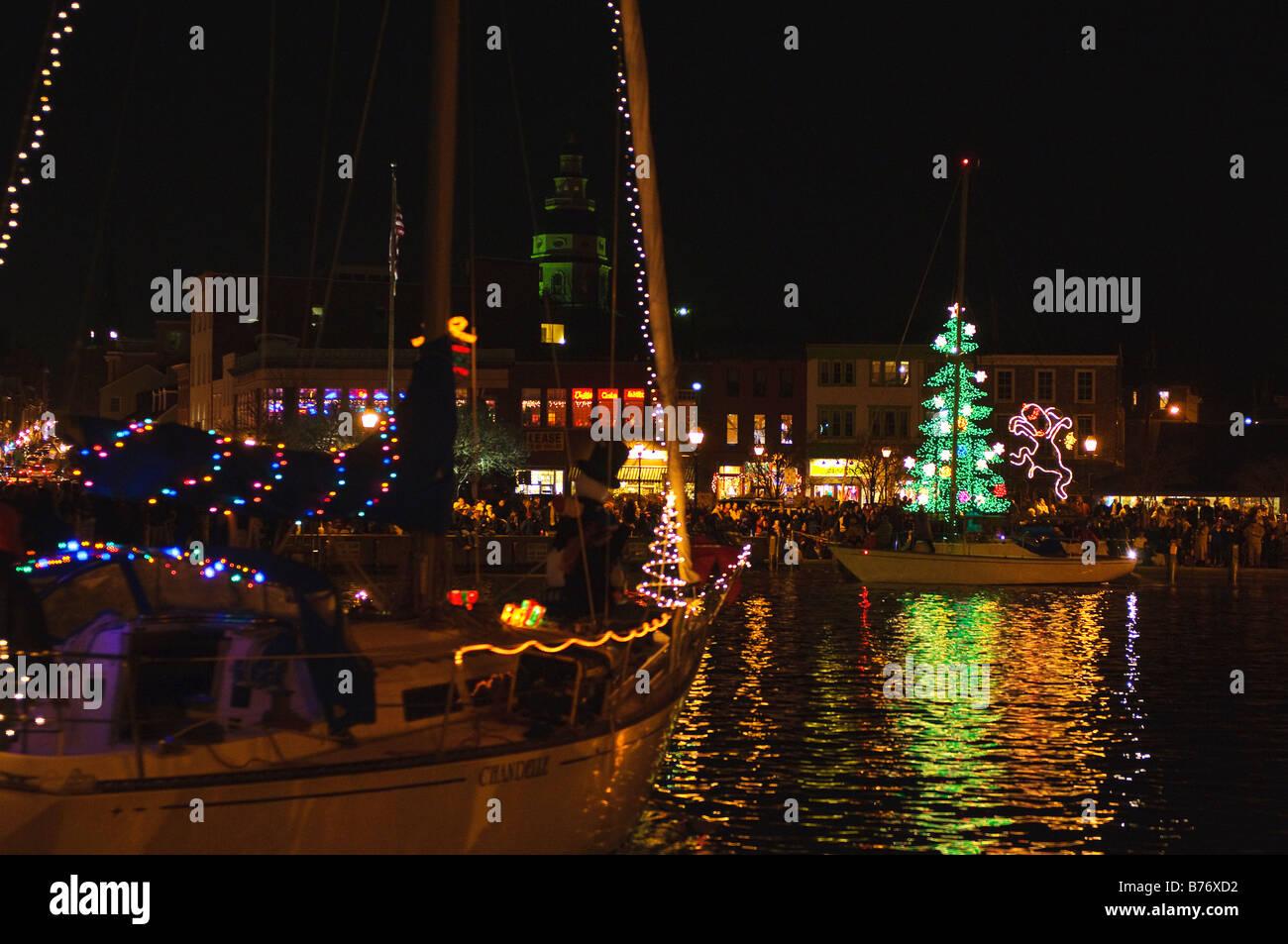 christmas light parade oxford