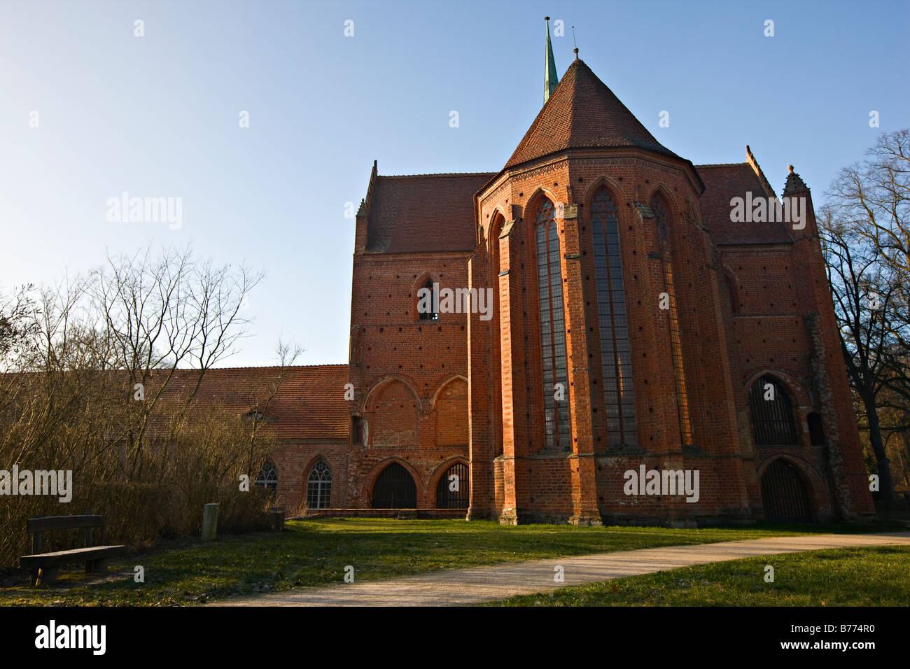 Kloster Chorin (Chorin Monastery), Germany, Europe - Stock Image