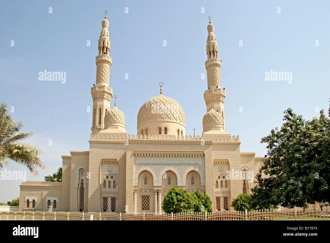 Jumeirah Mosque Dubai United Arab Emirates Middle East