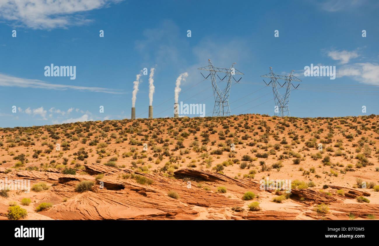 On Line Reservation Stock Photos Images Tas Laptop Arizona Power Plant Distance Navajo Image