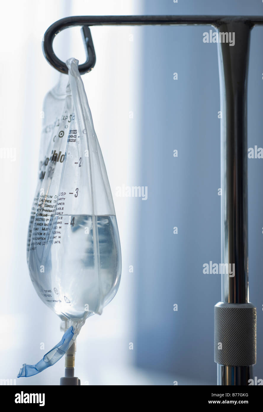 Close up of Intravenous drip - Stock Image