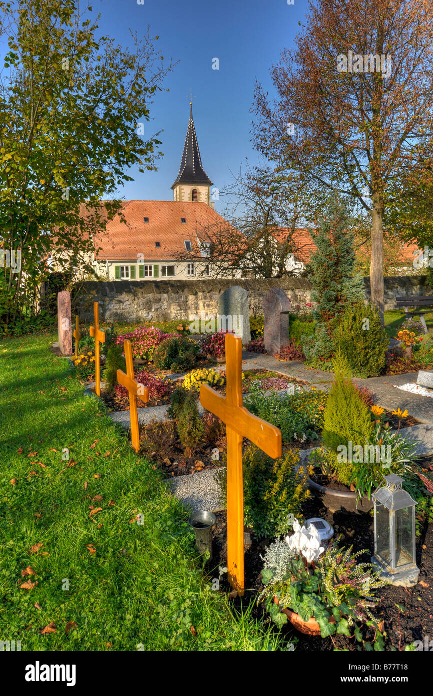 Germany Church Yard Cemetery Stock Photos & Germany Church Yard ...