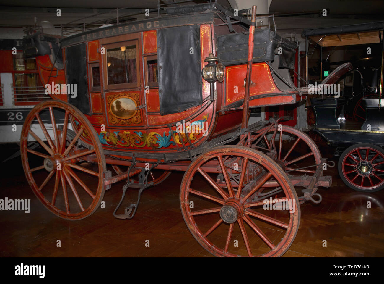 the concord coach an 1885 stagecoach stock photo: 21692267 - alamy