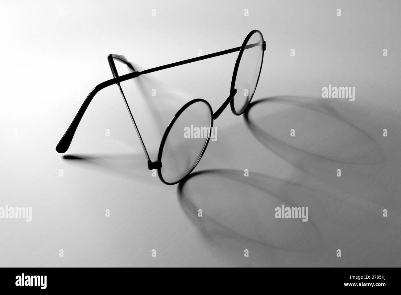 granny's glasses Stock Photo