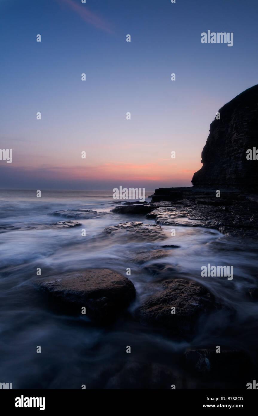 Dunraven Bay, Glamorgan Heritage Coast Stock Photo