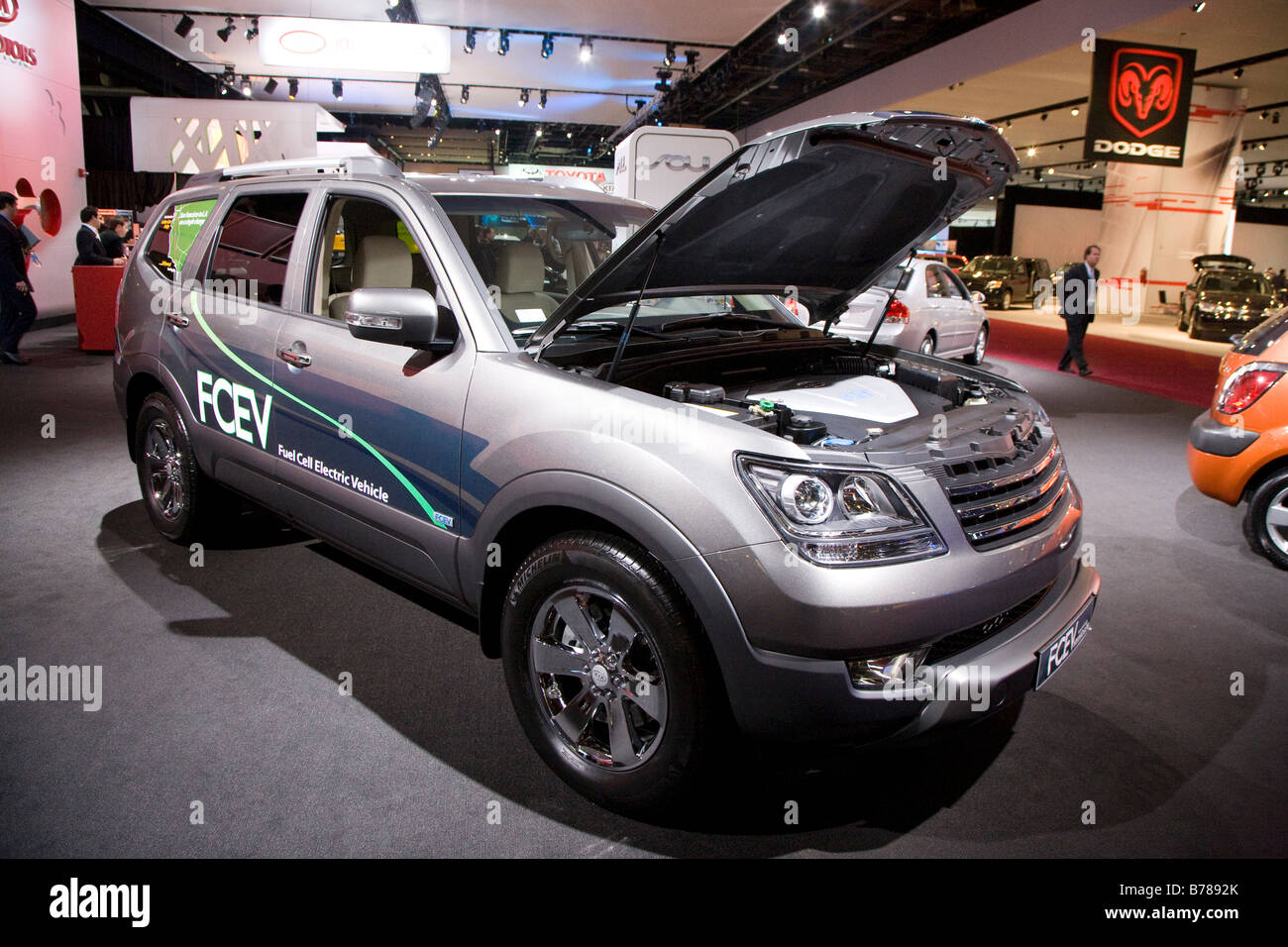 Kia FCEV Stock Photo