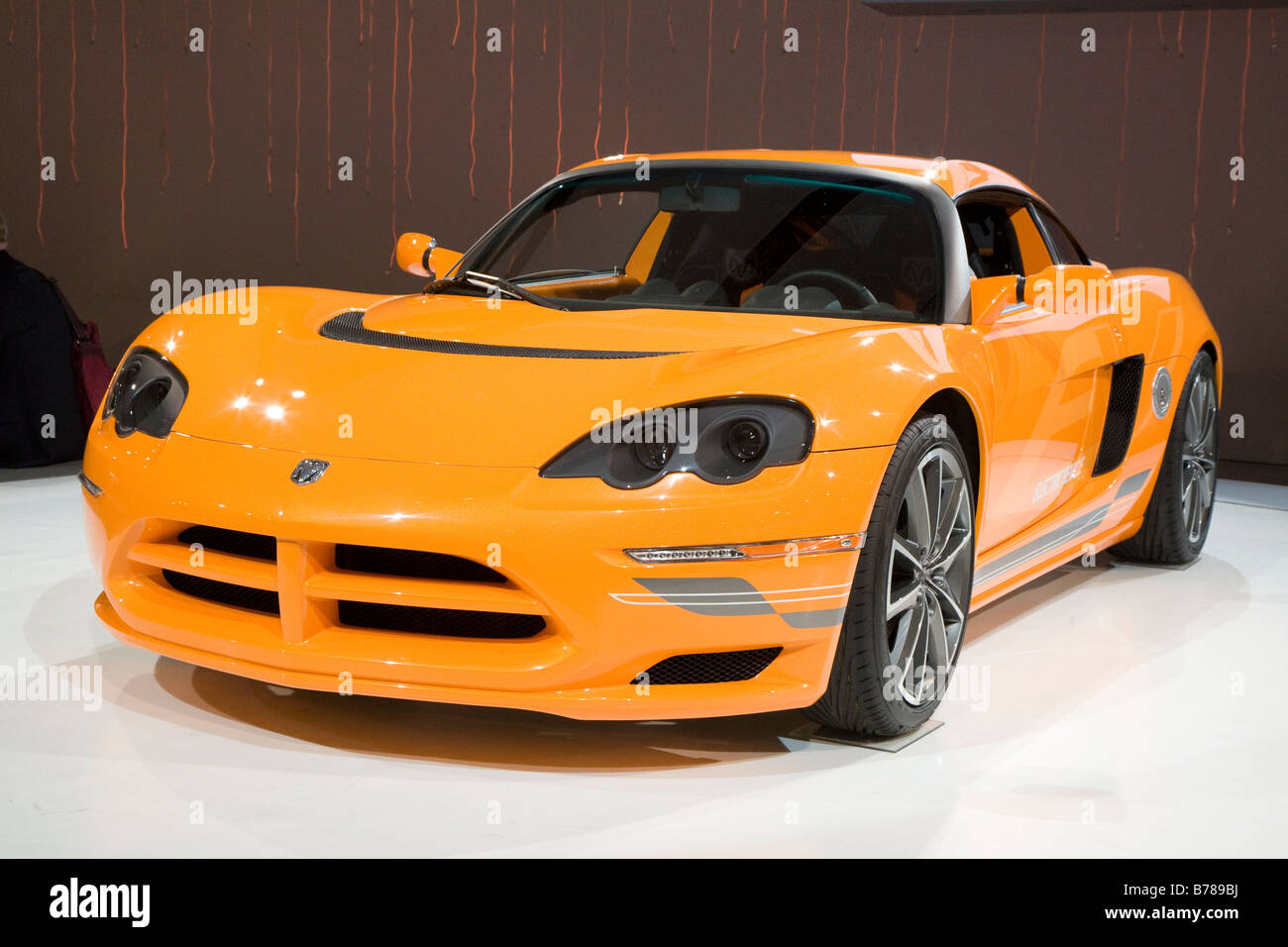Dodge Circuit Prototype Electric Car - Stock Image