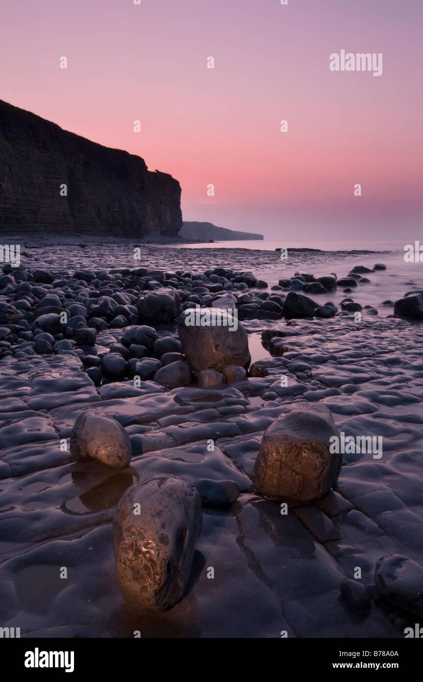 Llantwit Major Beach Stock Photo