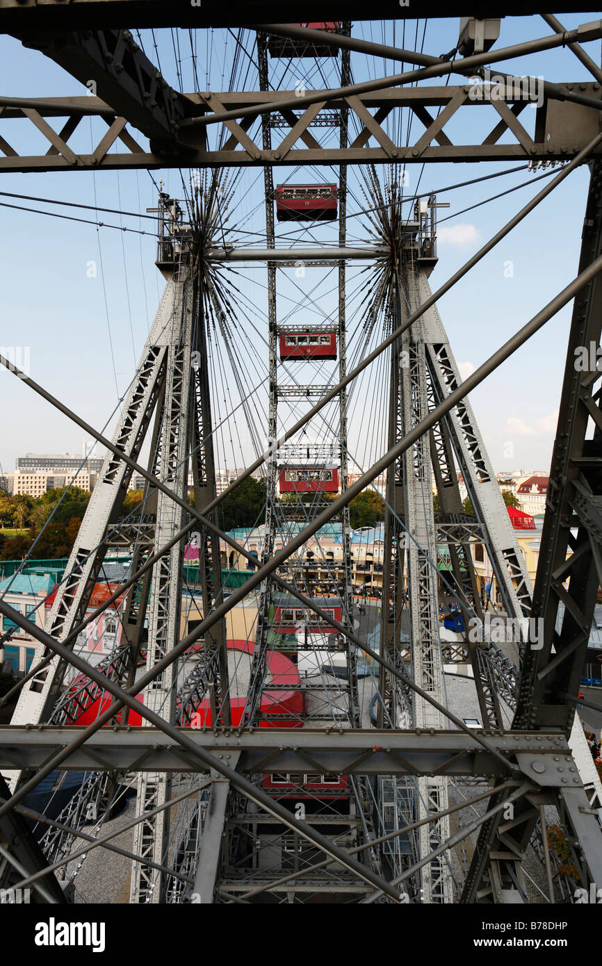 Giant wheel at Prater, Vienna, Austria, Europe Stock Photo