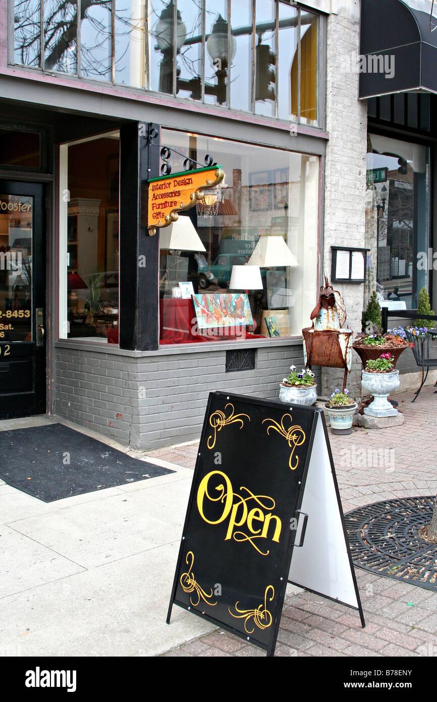 antique stores greensboro nc Antique store Elm Street Greensboro North Carolina Stock Photo  antique stores greensboro nc