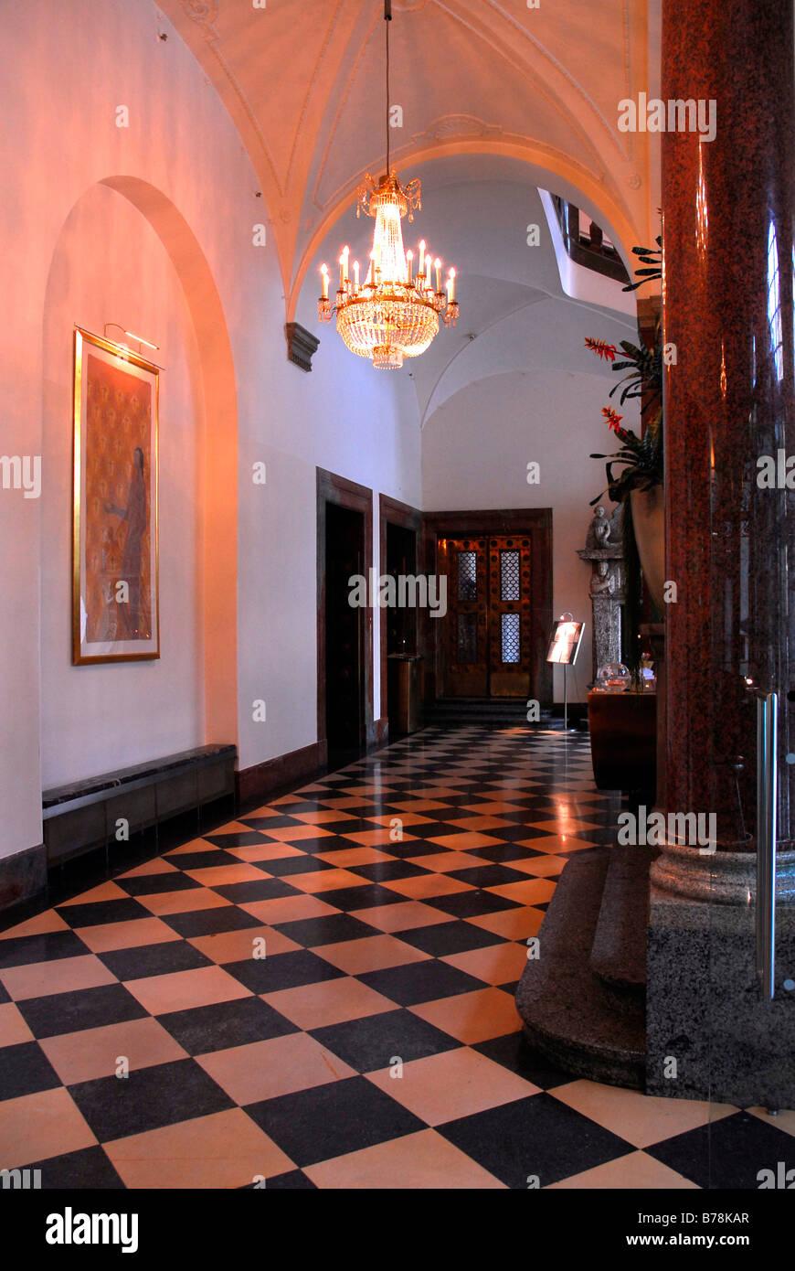 Lenbach Catering lounge, bar cafe restaurant, interior, Otto Street ...