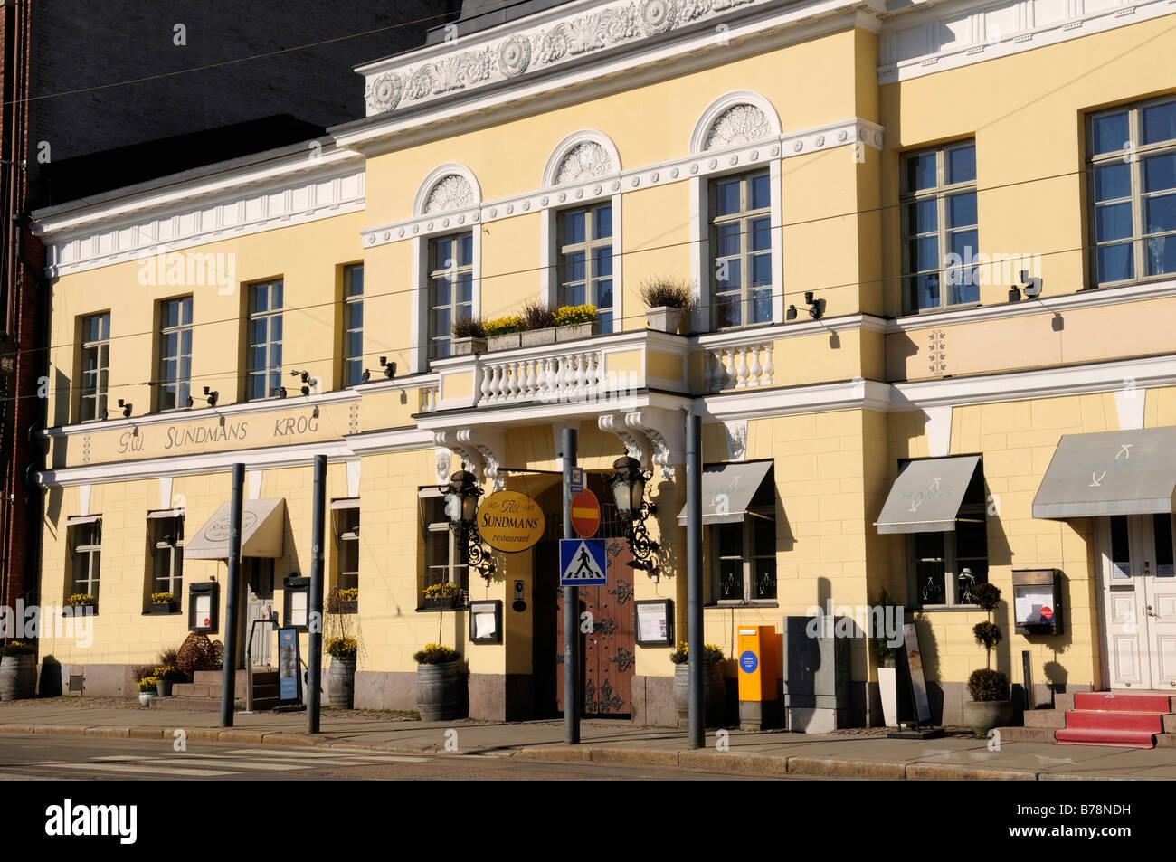 Sundmans Restaurant, Etelaeranta, Helsinki, Finland, Europe - Stock Image