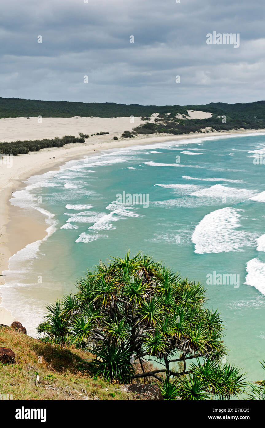 Indian Head viewpoint on Fraser Island, Queensland, Australia - Stock Image