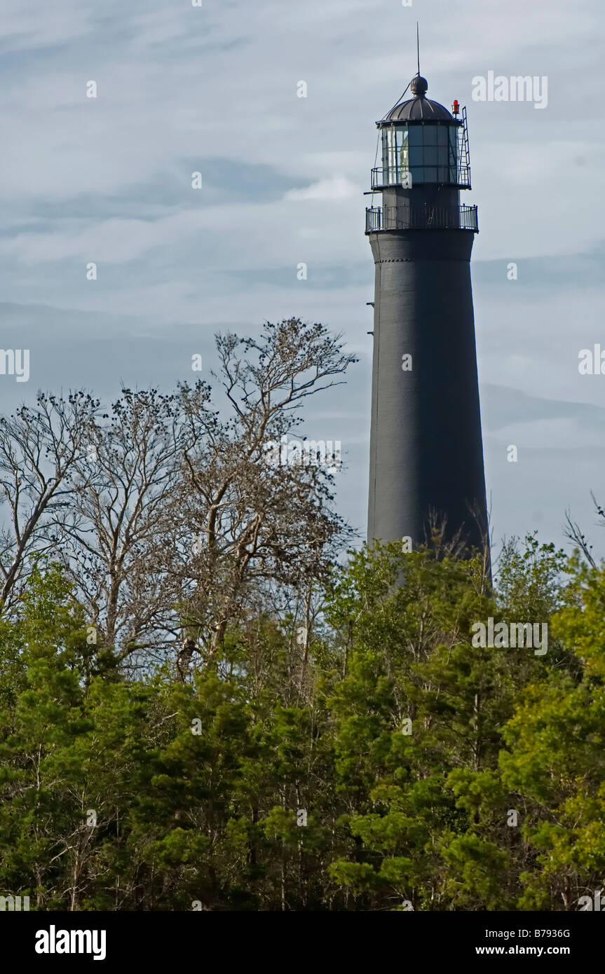 Light House, Pensacola NAS, Florida - Stock Image