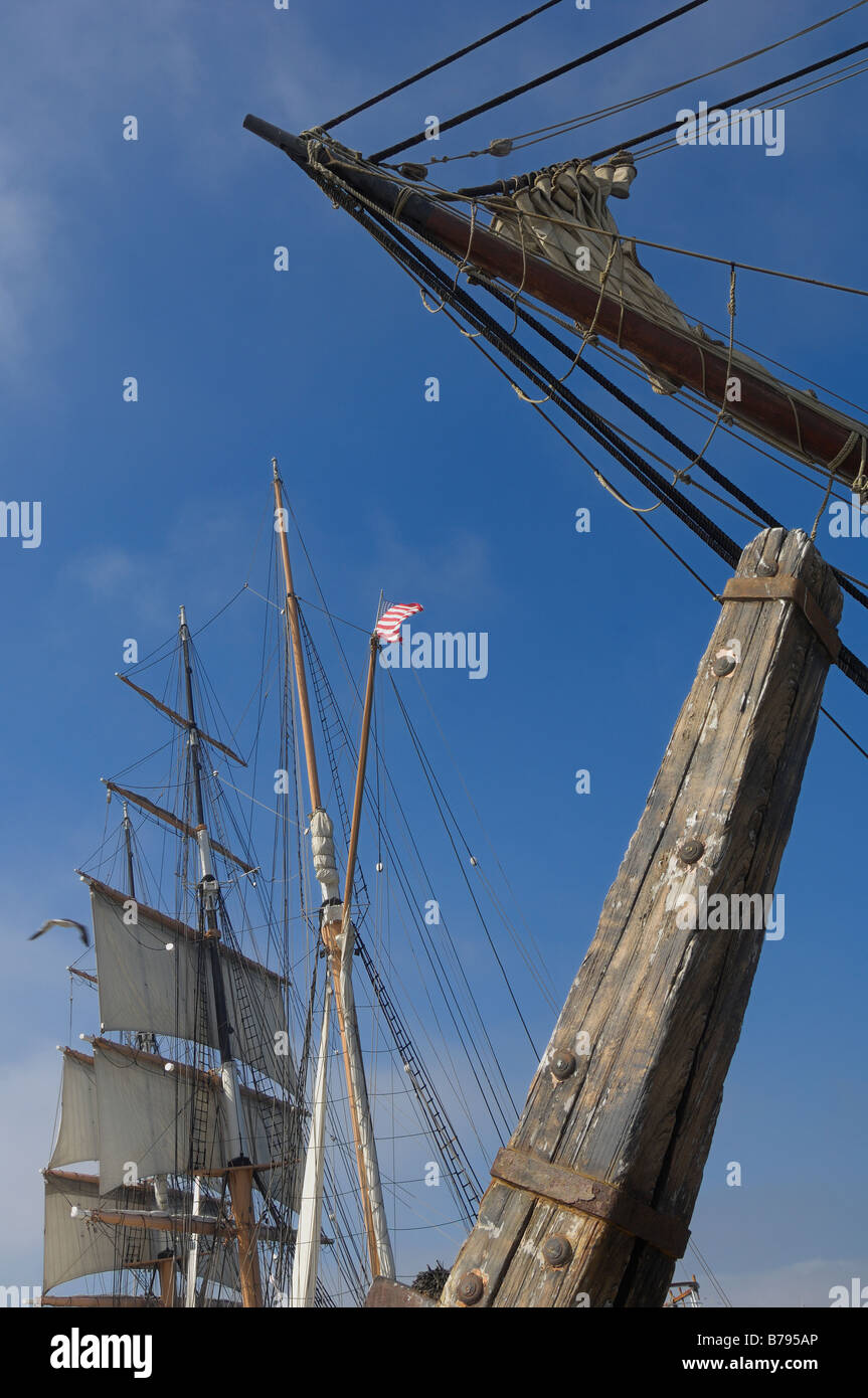 Tall Ships San Diego Harbor - Stock Image
