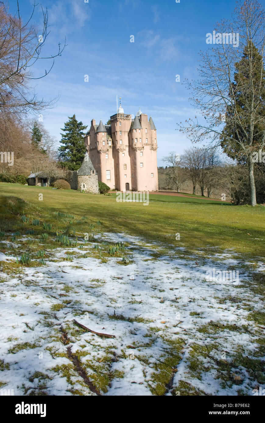 Craigievar Castle nr Alford Aberdeenshire Scotland - Stock Image