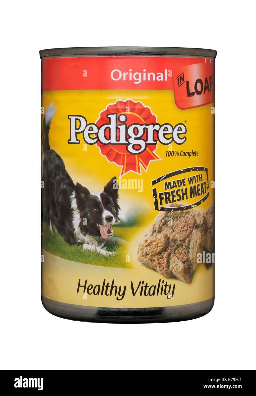 Pedigree Chum Dog Food Tin - Stock Image